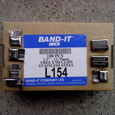 Band-It Free End Clips