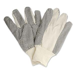 Gang tay vai phu hat nhua - Cotton Polka Dot Gloves