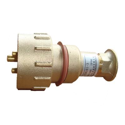 Marine Brass 3 pin Plug