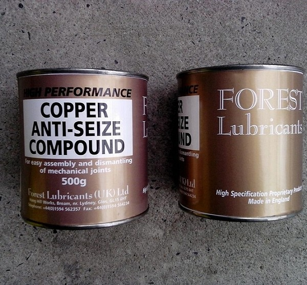 Copper Anti-Seize Compound, 500g