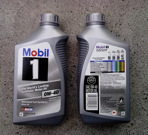 Mobil 1 0W-40, 946ml