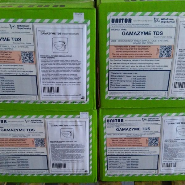 GAMAZYME TOILET DESCALER. PN 653 743146