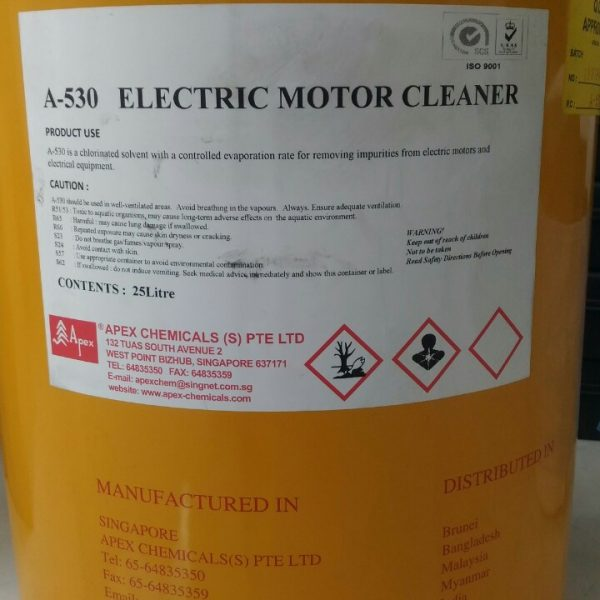 A-530 Electric Motor Cleaner, 25L