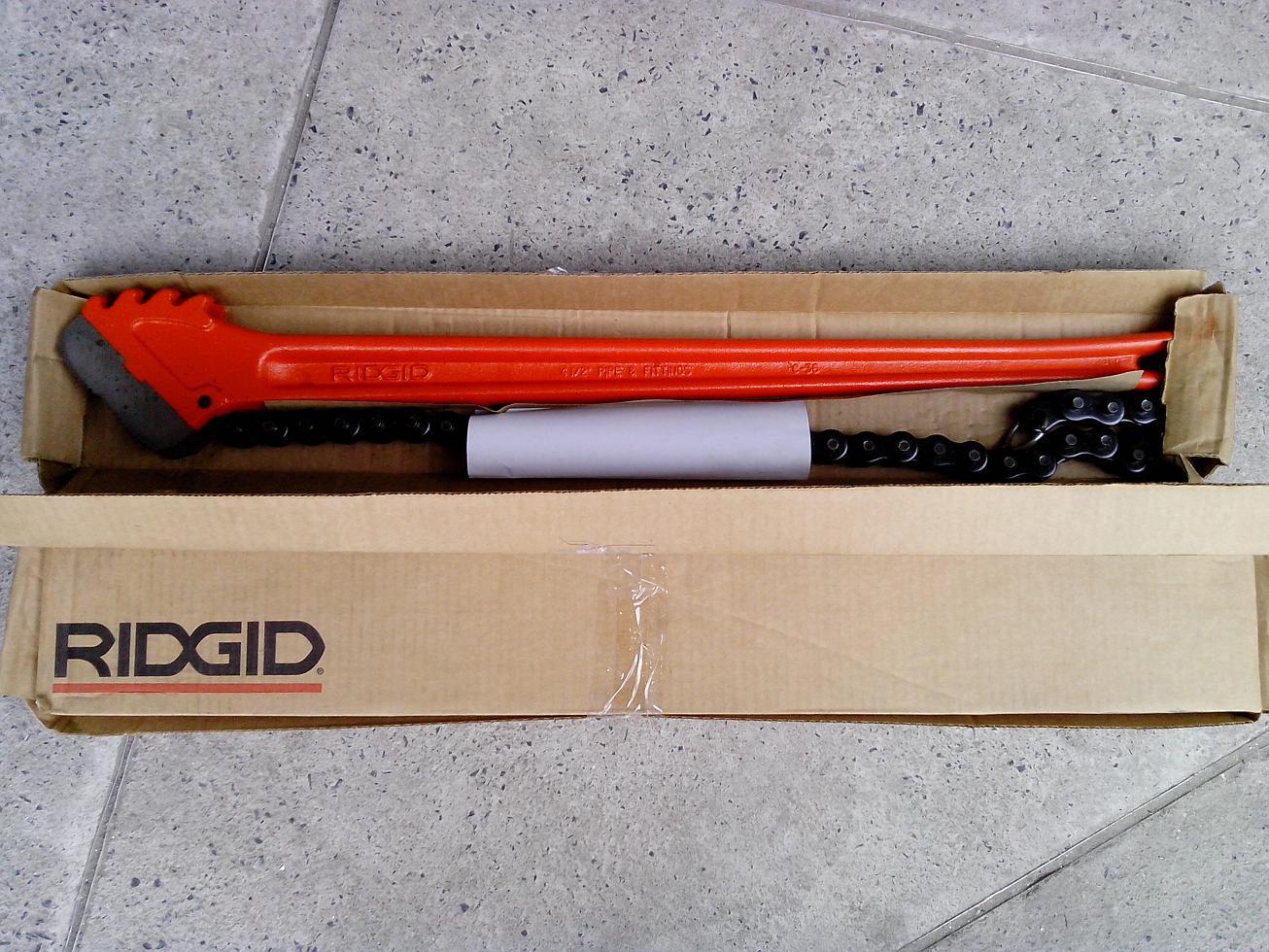 Ridgid Heavy Duty Chain Wrench