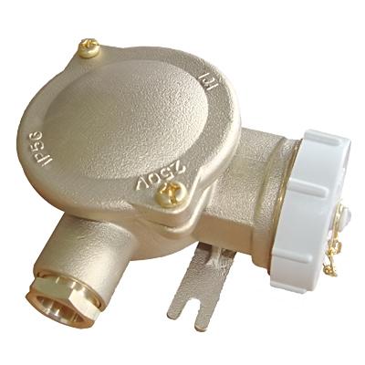 Marine Brass Socket CZH101-3