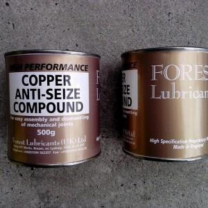 Copper Anti-Seize Compound, 500g