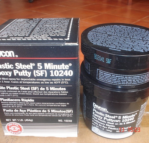 Devcon Plastic Steel 5 Minute 10240