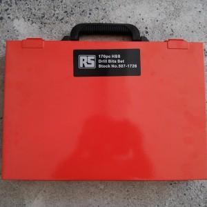 Drill Set, Part No. 507-1726, RS Components